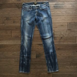 Lucky Brand Lola Skinny Ol Wisteria Wash Jeans